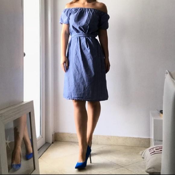686515d9 Zara striped midi dress. M_5b3ceabaaaa5b80cdc42c0b9